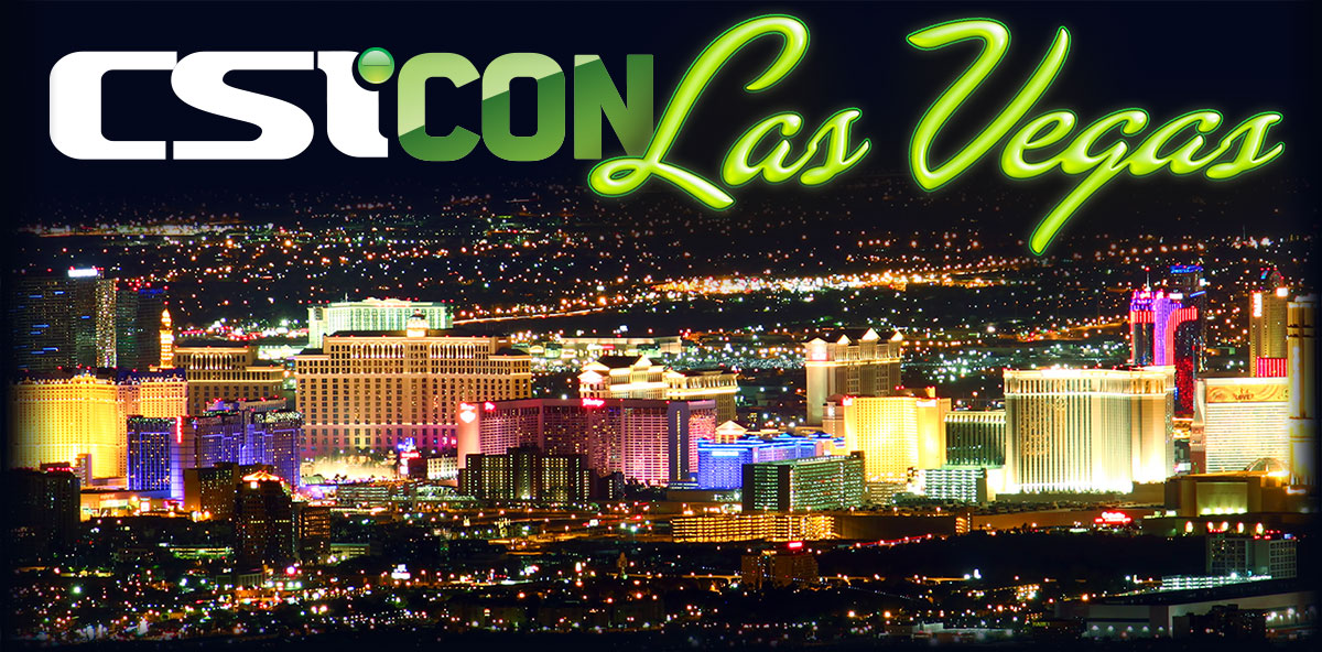 CSICON Las Vegas Header